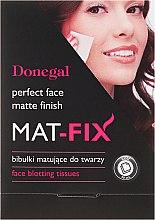 Parfémy, Parfumerie, kosmetika Matující ubrousky na obličej - Donegal Face Blotting Tissues Mat-Fix