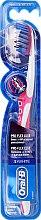 Parfémy, Parfumerie, kosmetika Zubní kartáček, měkký, růžový - Oral-B Proflex 3D White Luxe 38 Soft