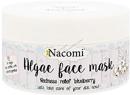 "Parfémy, Parfumerie, kosmetika Alginátová maska na obličej ""Borůvky"" - Nacomi Professional Face Mask"