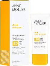 Parfémy, Parfumerie, kosmetika Opalovací krém na obličej - Anne Moller Age Sun Resist Protective Face Cream SPF30