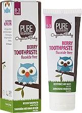 """Parfémy, Parfumerie, kosmetika Dětská zubní pasta """"Jahody"""" - Pure Beginnings Baby Berry Toothpaste"""