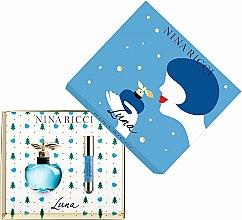 Parfémy, Parfumerie, kosmetika Nina Ricci Luna - Sada (edt/50ml + lipstick/2.5g)