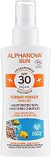 Parfémy, Parfumerie, kosmetika Ochranný sprej proti slunci - Alphanova Sun Bio SPF30 Spray Voyage