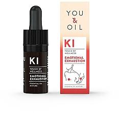 Parfémy, Parfumerie, kosmetika Směs esenciálních olejů - You & Oil KI-Emotional Exhaustion Touch Of Welness Essential Oil