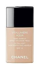Parfémy, Parfumerie, kosmetika Tonální krém - Chanel Vitalumiere Aqua