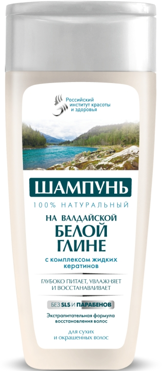 Šampon na vlasy s valdajským bielym ílom Fito Kosmetik - Fito Kosmetik