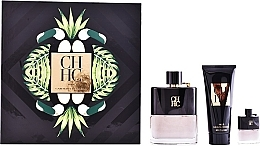 Parfémy, Parfumerie, kosmetika Carolina Herrera CH Men Prive - Sada (edt/100ml + ash/balm/100ml + edt/mini/7ml)