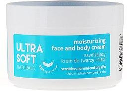 Parfémy, Parfumerie, kosmetika Hydratační krém na obličej a tělo - Ultra Soft Naturals Moisturising Face and Body Cream