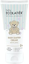 Parfémy, Parfumerie, kosmetika Dětský krém se zinkem - Ecolatier Baby Diaper Cream With Zinc