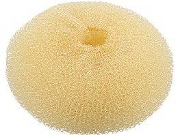 Parfémy, Parfumerie, kosmetika Vlasový váleček, kulatý, žlutý, 110 mm - Lussoni Hair Bun Ring Yellow
