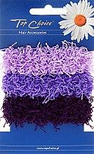 Parfémy, Parfumerie, kosmetika Gumičky na vlasy 3 ks, fialové - Top Choice
