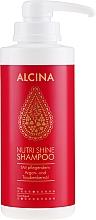 Parfémy, Parfumerie, kosmetika Výživný šampon na vlasy - Alcina Nutri Shine Oil Shampoo
