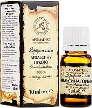 Parfémy, Parfumerie, kosmetika Éterický olej Pomeranč, hořký - Aromatika