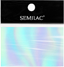 Parfémy, Parfumerie, kosmetika Alobal na zdobení nehtů - SEMILAC Transfer Foil (1ks.)