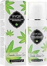 Parfémy, Parfumerie, kosmetika Konopný vyživující krém s kmenovými buňkami - Ryor Cannabis Derma Care Nourishing Hemp Cream With Stem Cells