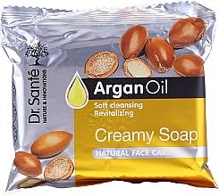 Parfémy, Parfumerie, kosmetika Krémové pleťové mýdlo s arganovým olejem - Dr.Sante Cream Soap