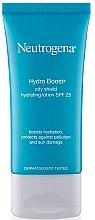 Parfémy, Parfumerie, kosmetika Hydratační lotion s SPF 25 - Neutrogena Hydro Boost City Shield Hydrating Lotion SPF 25