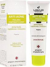 Parfémy, Parfumerie, kosmetika Enzymový peeling pro problématickou a mastnou pleť - Floslek Anti Acne Enzyme Peel