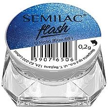 Parfémy, Parfumerie, kosmetika Lešticí pigment - Semilac Flash
