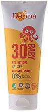 Parfémy, Parfumerie, kosmetika Dětský opalovací krém - Derma Sun Baby Sollotion SPF30