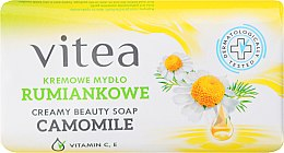 Parfémy, Parfumerie, kosmetika Krémové mýdlo heřmánkové - Vitea Cream Soap
