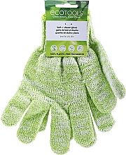 Parfémy, Parfumerie, kosmetika Rukavice do sprchy a koupele, zelené - EcoTools Recycled Bath & Shower Gloves Guantes