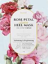 Parfémy, Parfumerie, kosmetika Zjemňující maska na paty - Petitfee&Koelf Rose Petal Satin Heel Mask