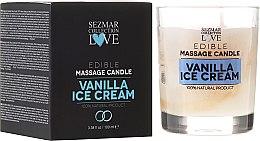 """Parfémy, Parfumerie, kosmetika Přírodní masážní svíčka """"Vanilka"""" - Sezmar Collection"""