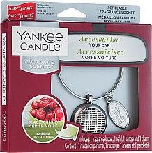 Parfémy, Parfumerie, kosmetika Vůně do auta - Yankee Candle Charming Scents Black Cherry Linear