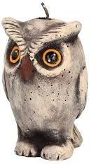 Vonná svíčka, 9x16 cm., Výr - Artman Owl