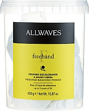 Parfémy, Parfumerie, kosmetika Prášek na zesvětlení vlasů Freehand - Allwaves Freehand Bleaching Powder