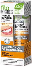 Parfémy, Parfumerie, kosmetika Zubní prášek v hotovém stavu Profesionální bělení - Fito Kosmetik