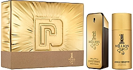 Parfémy, Parfumerie, kosmetika Paco Rabanne 1 Million - Sada (edt/100 + deo/150)