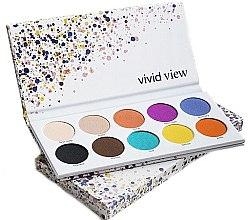Parfémy, Parfumerie, kosmetika Paleta očních stínů - Paese Vivid View Eyeshadow Palette