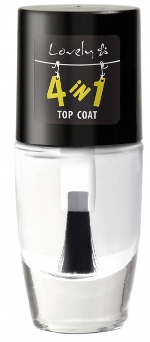 Zpevňující vrchní vrstva na nehty - Lovely 4-in-1 Nail Top Coat