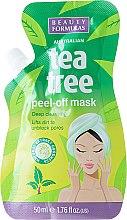 Parfémy, Parfumerie, kosmetika Slupovací maska na obličej - Beauty Formulas Tea Tree Peel-Off Mask
