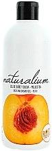 """Parfémy, Parfumerie, kosmetika Sprchový výživný krémový gel """"Broskev"""" - Naturalium Bath And Shower Gel Peach"""