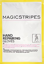 Parfémy, Parfumerie, kosmetika Obnovující maska-rukavice - Magicstripes Hand Repairing Gloves