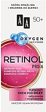 Parfémy, Parfumerie, kosmetika Kyslíkový krém na oční víčka 50+ - AA Oxygen Infusion Retinol Pro-A Eye Cream