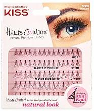 Parfémy, Parfumerie, kosmetika Nalepovací trsy - Kiss Haute Couture Natural Premium Lashes
