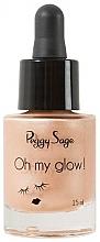 Parfémy, Parfumerie, kosmetika Tekutý rozjasňovač - Peggy Sage Oh my Glow! Liquid Illuminator