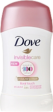 Parfémy, Parfumerie, kosmetika Antiperspirant v tyčince - Dove Invisible Care Floral Touch Deodorant Stick