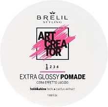 Parfémy, Parfumerie, kosmetika Rtěnka slabé fixace pro tvorbu ultra lesku - Brelil Art Creator Extra Glossy Pomade