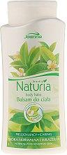 Parfémy, Parfumerie, kosmetika Tělový balzám se zeleným čajem - Joanna Naturia Body Balm