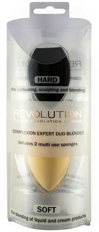 Sada houbiček na make-up - Makeup Revolution Complexion Expert Duo Sponge — foto N1