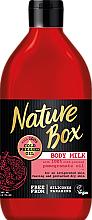 Parfémy, Parfumerie, kosmetika Masážní mléko - Nature Box Pomegranate Oil Body Milk