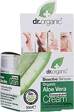 Parfémy, Parfumerie, kosmetika Krém s aloe vera - Dr.Organic Bioactive Skincare Aloe Vera Concentrated Cream