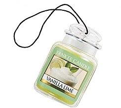 """Parfémy, Parfumerie, kosmetika Vůně """"Vanilka a limetka"""" - Yankee Candle Vanilla Lime Car Jar Ultimate"""