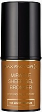 Parfémy, Parfumerie, kosmetika Bronzer v tyčince - Max Factor Miracle Sheer Gel Bronzer
