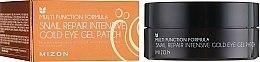 Parfémy, Parfumerie, kosmetika Náplasti pod oči regenerační - Mizon Snail Repair Intensive Gold Eye Gel Patch
